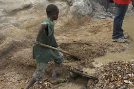 Child Miner Coltan